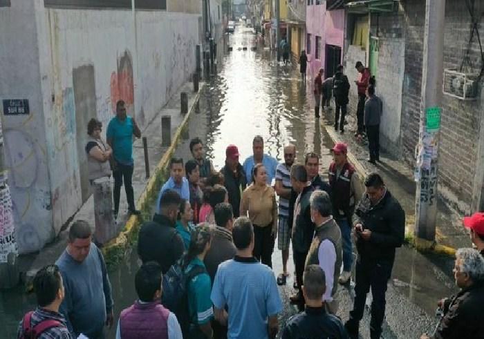 Ecatepec inundaciones