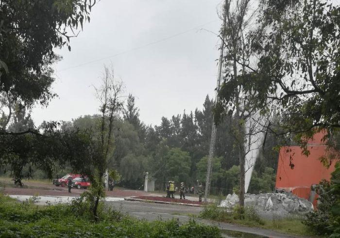 fuga de gas Iztacalco