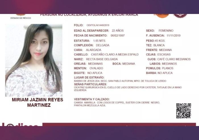Miriam Jazmín Reyes Martínez