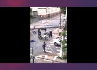 atacan a un policía