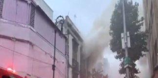 Incendio CDMX